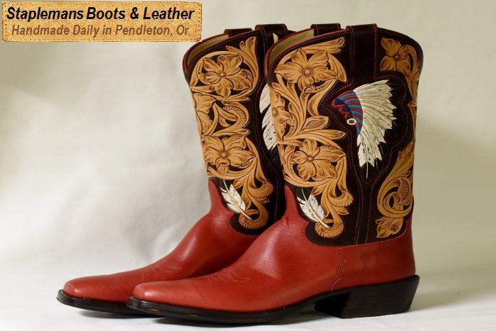 The Best Handmade Cowboy Boots You Can Buy in Oregon! Staplemans ...